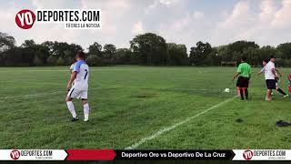Deportivo Oro vs. Deportivo De La Cruz Liga Douglas Juego de Ida