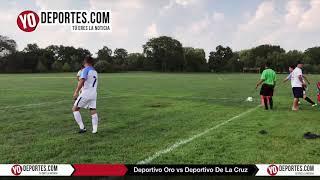 Deportivo Oro vs. Deportivo De La Cruz Liga Douglas Juego de Ida