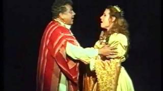 Verdi: Otello - Desdemona-Otello duet (Act 1) - Eszter Bellai, János Bándi