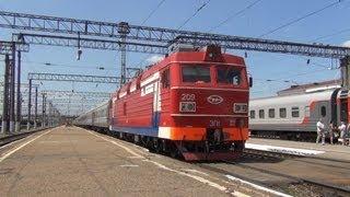 getlinkyoutube.com-Отправление поезда и срыв стоп-крана