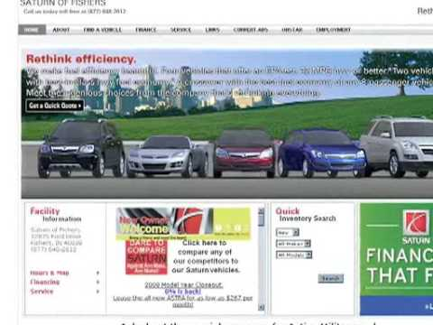 Saturn of Fishers on GM iMR and their Cobalt Website