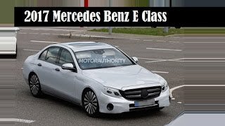 getlinkyoutube.com-2017 Mercedes-Benz E-Class, very much like the C-Class and S-Class it will sit between