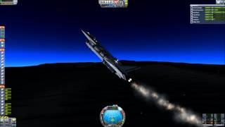 getlinkyoutube.com-[KSP .25] (no mods) SSTO to Laythe and back: Jovian VIII