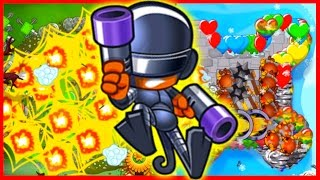 getlinkyoutube.com-Bloons TD Battles - DOUBLE MONEY & RANDOM TOWERS! - Bloons TD Battles Winning Strategy
