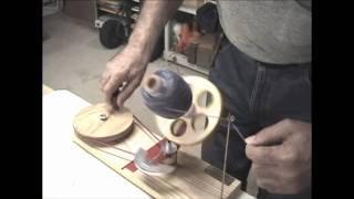 getlinkyoutube.com-Winding Slippery Yarns on a Strauch Jumbo Ball Winder