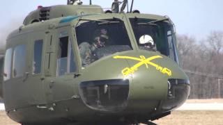 getlinkyoutube.com-Restored Vietnam UH-1H Bell Huey First Flights HD