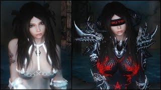 getlinkyoutube.com-Skyrim: Hot Wear & Daedric Glowing Chainmail