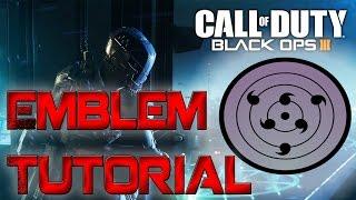 getlinkyoutube.com-Black Ops 3 Emblem Tutorials - Sasukes Rinnegan