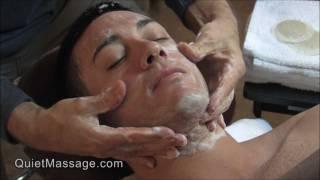 getlinkyoutube.com-Deluxe Facial Treatment for Men
