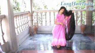 getlinkyoutube.com-Floor Length Indian Hair Part2