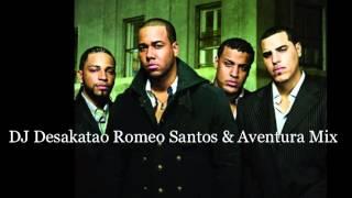 getlinkyoutube.com-Romeo Santos & Aventura Mix 1 2013 DJ Desakatao