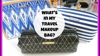 getlinkyoutube.com-What's In My Travel Makeup Bag? | Christmas Vacation