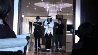 getlinkyoutube.com-マイケルジャクソン  半沢直樹  結婚式  余興 スムースクリミナル他