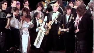 """getlinkyoutube.com-George Harrison, Bruce Springsteen, Mick Jagger, Bob Dylan and others -- """"I Saw Her Standing There"""""""