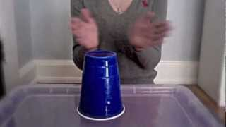 getlinkyoutube.com-How to do the cup song from pitch perfect, originally from Lulu and the Lampshades