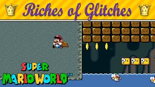getlinkyoutube.com-Riches of Glitches in Super Mario World (Glitch Compilation)