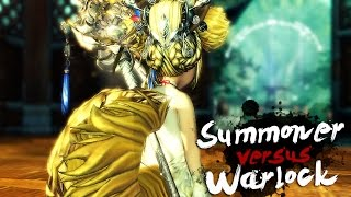 getlinkyoutube.com-Blade & Soul | Summoner vs Warlock