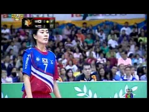 Sepak takraw ISTAF Super Series 2011 Women's Regu Final-Korea vs Thailand (Part4)