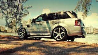 getlinkyoutube.com-Range Rover Sport on 22'' Vossen VVS-CV3 Concave Wheels / Rims