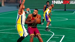 getlinkyoutube.com-NBA 2K16  - NEW BLACKTOP Street Basketball w/LeBron James & More
