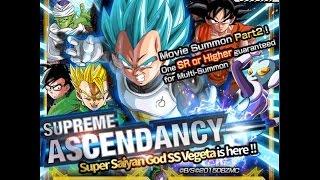 getlinkyoutube.com-Supreme Ascendancy: SSGSS Vegeta Summoning Event: DBZ Dokkan Battle