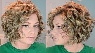 getlinkyoutube.com-Short Curly Hair Tutorial