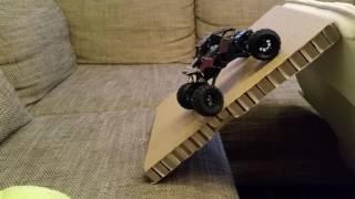 getlinkyoutube.com-Basher RockSta 1/24 4WS Mini Rock RC Crawler TEST DRIVING [POL]