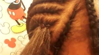 getlinkyoutube.com-For Beginners: How To Crochet Braid (Kanekalon Hair)