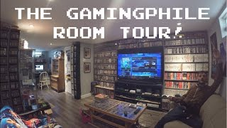getlinkyoutube.com-Video Game Room Tour! [HD] - thegamingphile