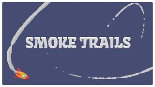 Smoke trails in After Effects (without plugins)