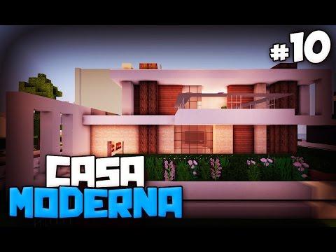 Como decorar una casa moderna en minecraft casa numero 6 for Como hacer una casa moderna