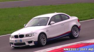 getlinkyoutube.com-BMW 1M Coupé Sounds on Track - Accelerations and More!