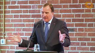 Nationella innovationsrådet 2018 Skellefteå - Statsminister Stefan Löfven