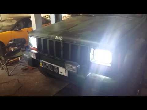 Jeep Cherokee Led Headlight G5 +240Вт