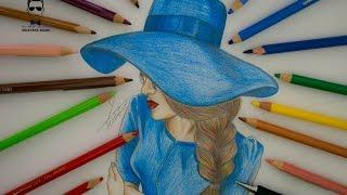 getlinkyoutube.com-كيفية رسم بورتريه مميز مع القبعة