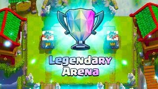 CLASH ROYALE :: ROAD TO LEGENDARY ARENA