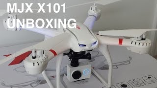 getlinkyoutube.com-MJX X101 Unboxing Video - Quadcopter/Drone