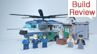 getlinkyoutube.com-Lego 60046 Police Helicopter Surveillance - Build Review 레고 스톱모션