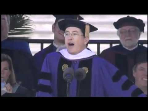 Stephen Colbert 2011 Commencement Speech at Northwestern University