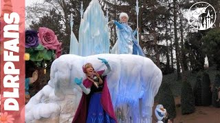 getlinkyoutube.com-Disneyland Paris Disney Magic on Parade with New Frozen Float