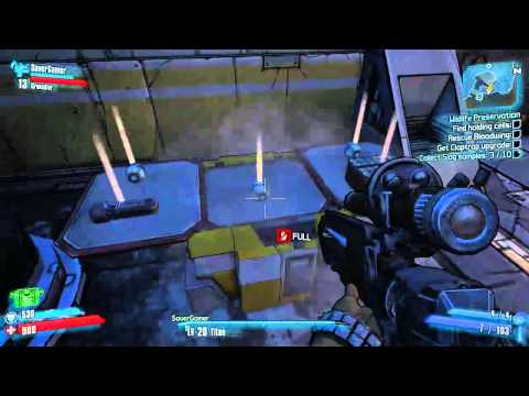Borderlands 2 coop with SaverGamer Ep 2 Too much badass