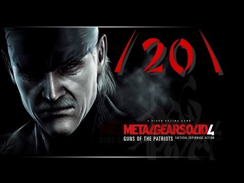 [LP] Metal Gear Solid 4 - Guns of the Patriots ~20~ (Les Enfants Terribles, Big Mama)