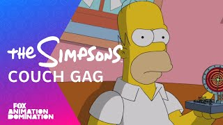 getlinkyoutube.com-The Simpsons Travel Into The Future Couch Gag | Season 26 Ep. 1 | THE SIMPSONS