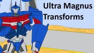 getlinkyoutube.com-Transformers Prime: Ultra Magnus Transforms