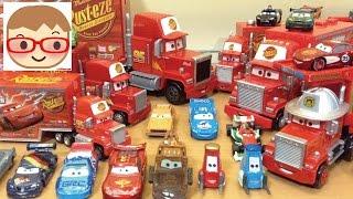 getlinkyoutube.com-ディズニー カーズ マック  トレーラー トミカ  ブーブー 자동차 맥 트레일러 Disney Pixar Cars Tomica BIG Mack
