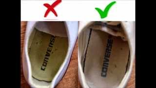 CONVERSE - FAKE vs. Original