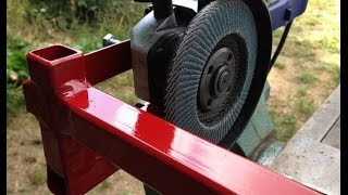 getlinkyoutube.com-Крепление для болгарки / Bracket for an angle grinder
