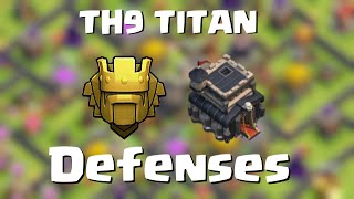 getlinkyoutube.com-TH9 in Titan | Defense above 4600 cups | Quantum´s 8.9 | Clash of Clans