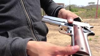 getlinkyoutube.com-Kimar 911 Fogueo. Remington 1911 9mm P.A.K. Airguns Colombia