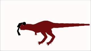 getlinkyoutube.com-Pivot animation *OLD*: Dinosaur VS humans!!